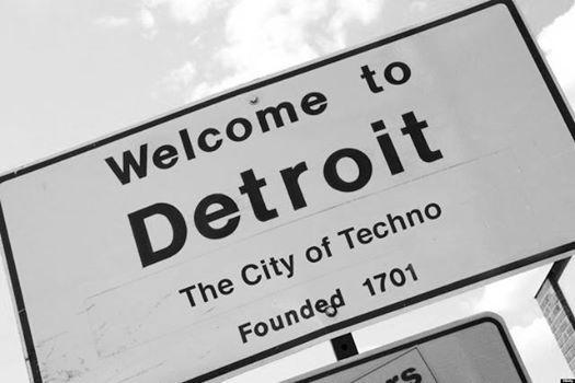 Cartel en la ciudad de Detroit