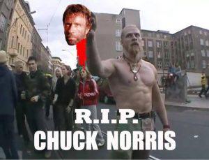 R.I.P Chuck Norris