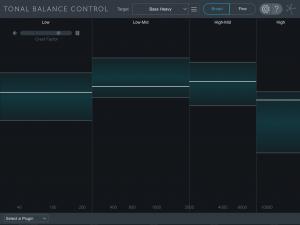 Tonal Balance Control vista principal