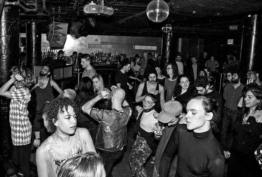 Club de música house en Chicago en la década de los 80