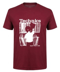 Camiseta Technics rojo