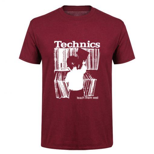 Camiseta Technics rojo