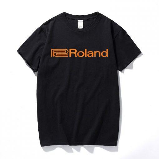 Camiseta Roland negro