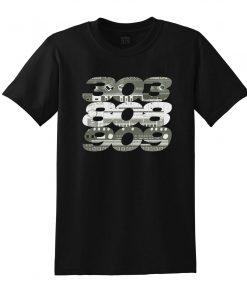 Camiseta 303 808 909