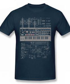 Camiseta Microkorg azul