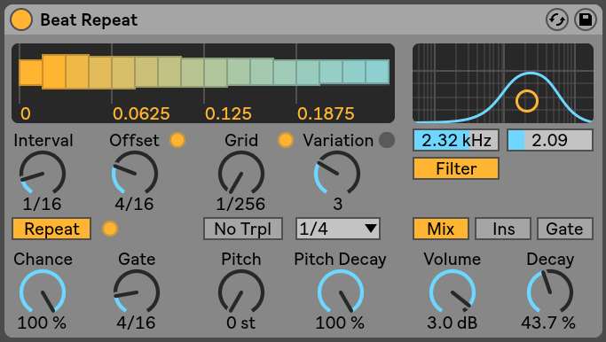 Beat Repeat Ableton Live