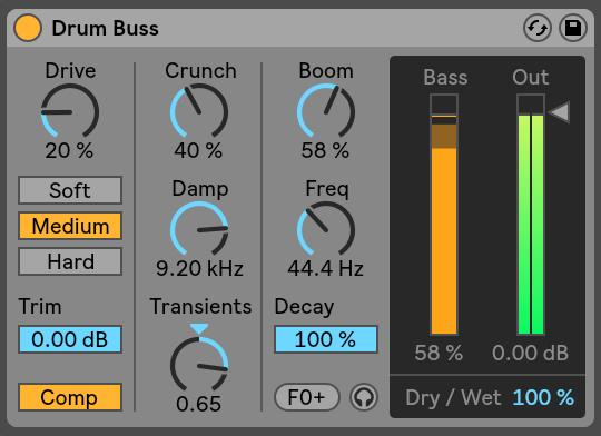 Drum Buss Ableton Live