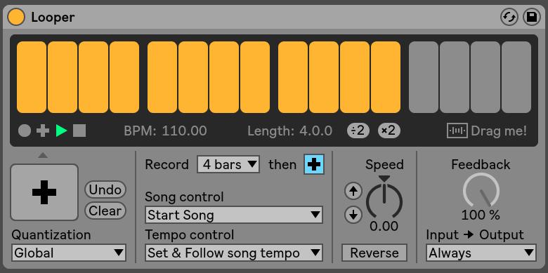 Looper Ableton Live
