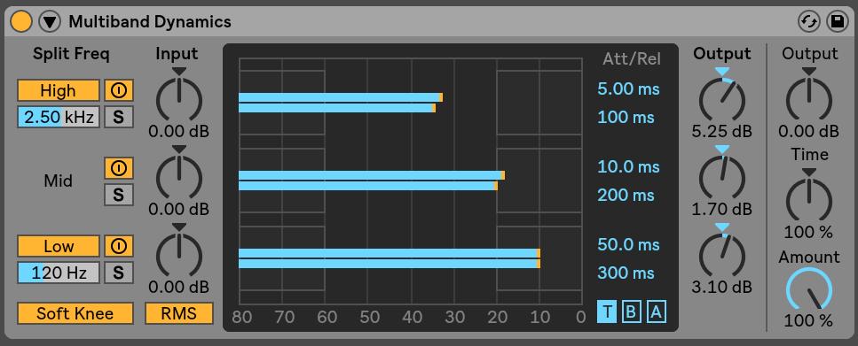 Multiband Dynamics Ableton Live