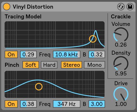 Vinyl Distortion Ableton Live