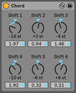 Chord Ableton Live