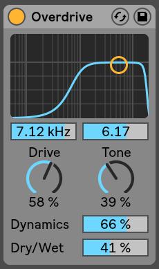 Overdrive Ableton Live