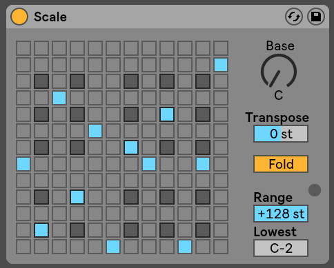Scale Ableton Live