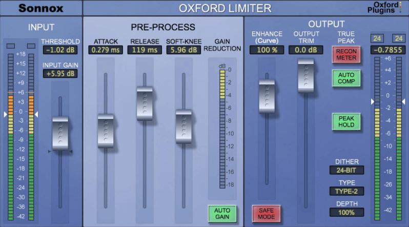 Limitadores mastering
